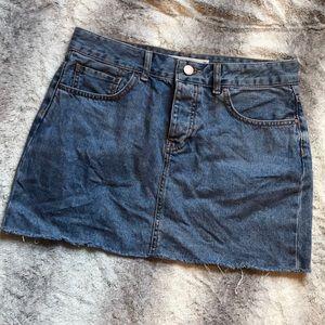 ASOS Raw denim mini skirt UK 10 🌻